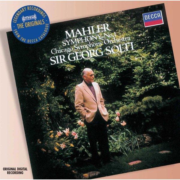 CD Mahler: Sym. 1, Solti/CSO