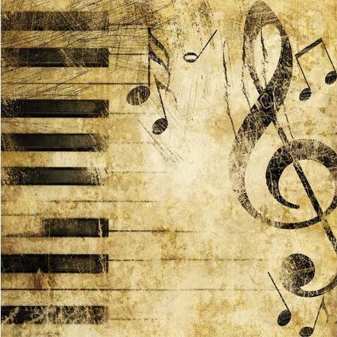 Napkin Piano