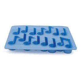Music Notes Ice Cube Tray