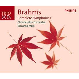 CD Brahms: Complete Symphonies, Muti/Philadelphia