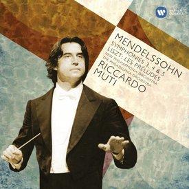 CD Mendelssohn: Sym. 3-5, Liszt: Les Preludes, Franck: Le Chasseur maudit, Muti/Philadelphia/New Philharmonia