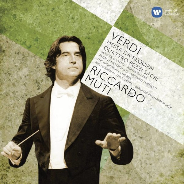 CD Verdi: Requiem, 4 Sacred Pieces, Muti/Philharmonia/BP