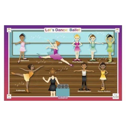 Placemat Ballet