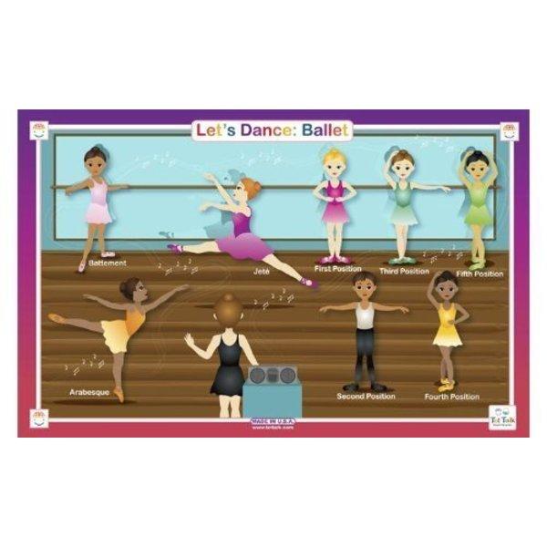 Ballet Placemat
