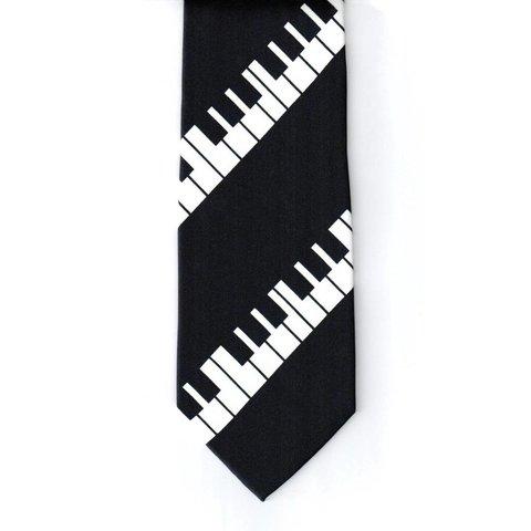 Diagonal Keyboard Tie