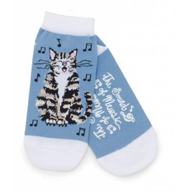 Socks - Women's The Sound of Mewsic, Ankle