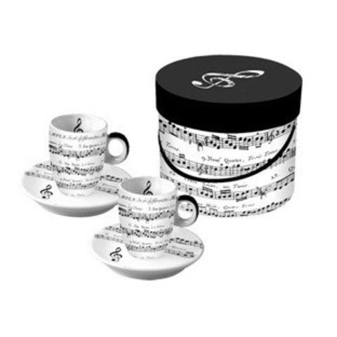 Adagio Espresso Cups, Set of 2