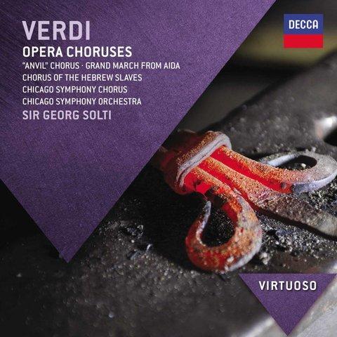 CD Verdi: Opera Choruses, Solti/CSO&C