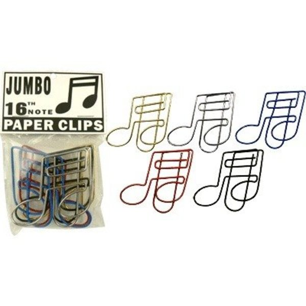Music Note Jumbo Paper Clips