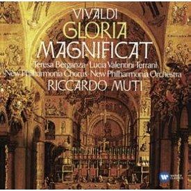 CD Vivaldi: Magnificat, Gloria, Muti/Berganza/Terrani/New Philharmonia
