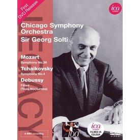 DVD Mozart: Sym. 39, Tchaikovsky: Sym. 4, Debussy: Nocturnes, Solti/CSO