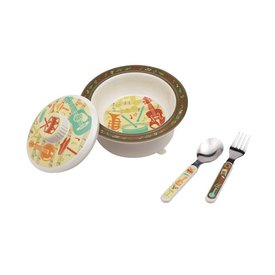 Music Covered Suction Bowl Gift Set