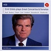 CD Emil Gilels Plays Great Concertos and Sonatas