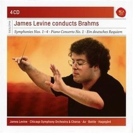 CD James Levine Conducts Brahms, Levine/Ax/Battle/CSO&C