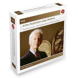CD Arthur Rubinstein Plays Brahms