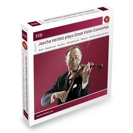 CD Jascha Heifetz Plays Great Violin Concertos
