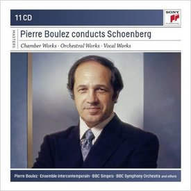 CD Pierre Boulez Conducts Schoenberg