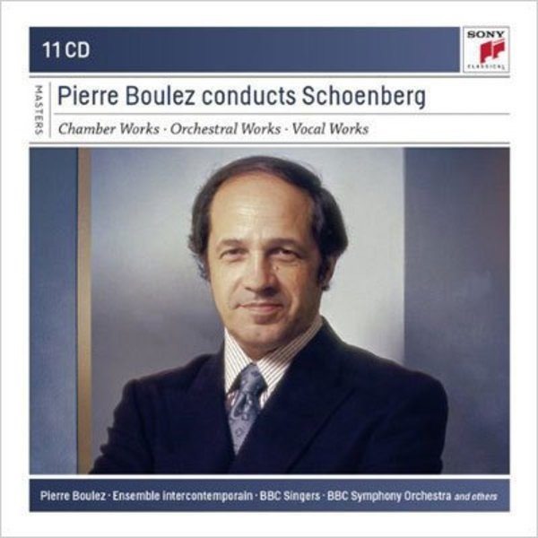 CD Pierre Boulez Conducts Schoenberg