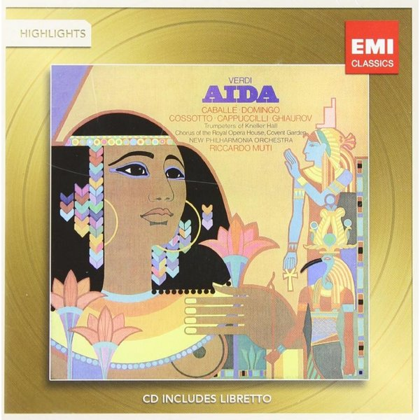 CD Verdi: Aida (Highlights), Muti/New Philharmonia