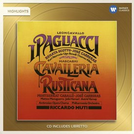 CD Mascagni: Cavalleria Rusticana (Highlights), Leoncavallo: Pagliacci (Highlights), Muti/Philharmonia