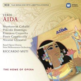 CD Verdi: Aida, Muti/New Philharmonia