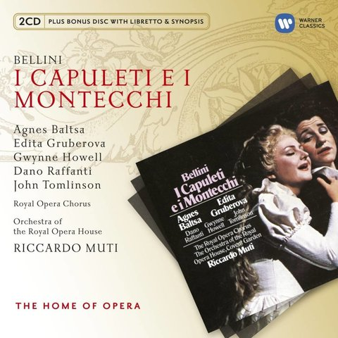 CD Bellini: I Capuleti e i Montecchi, Muti/Royal Opera