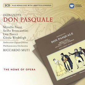 CD Donizetti: Don Pasquale, Muti/Philharmonia