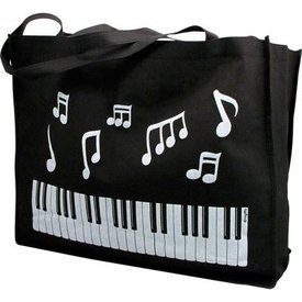 Keyboard & Notes Reusable Tote