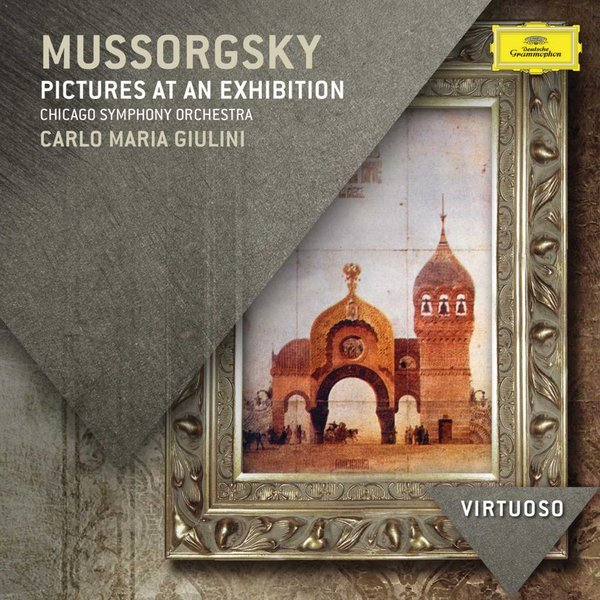 CD Mussorgsky: Pictures at an Exhibition, Giulini/CSO