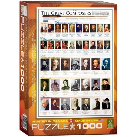 Puzzle - The Great Composers