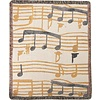 Throw Music Stanzas Tapestry