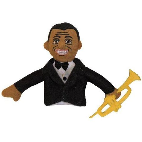 Louis Armstrong Finger Puppet