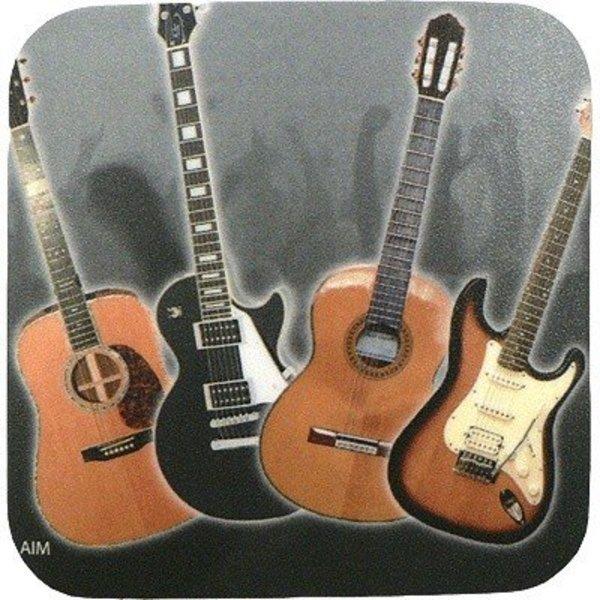 Coaster Guitar Vinyl