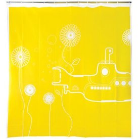 Shower Curtain Yellow Submarine