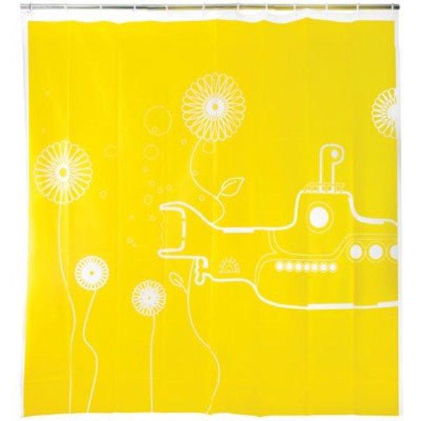 Shower Curtain Yellow Submarine