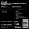 CD Berlioz: Symphonie Fantastique, Lelio, Muti/Depardieu/CSO & Chorus