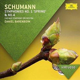 CD Schumann: Sym. 1 & 4, Barenboim/CSO