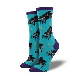 Socks - Women's Baby Grand Turquoise