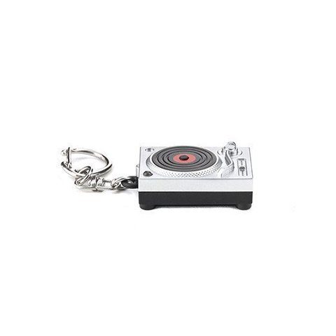 Keychain Turntable with LED