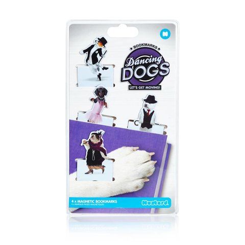 Magnetic Bookmarks, Dancing Dogs