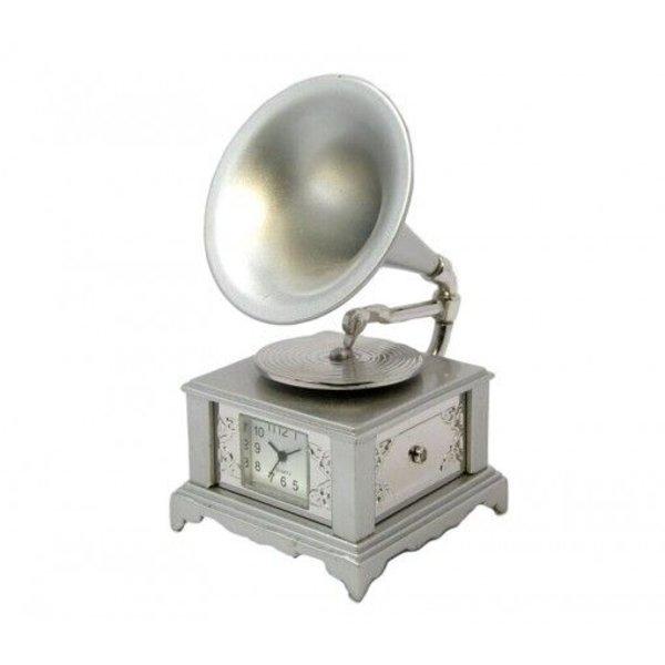 Vintage Gramophone Clock