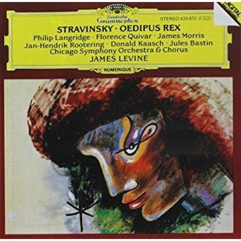 CD Stravinsky: Oedipus Rex, Levine/CSO&C