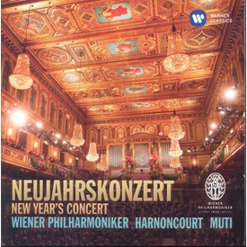 CD Best of New Year's Concerts: Muti/Harnoncourt/VPO