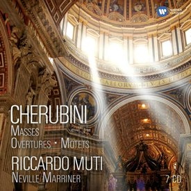 CD Cherubini: Masses, Overtures, Motets, Muti/Marriner