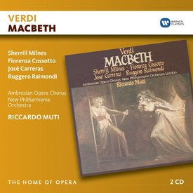 CD Verdi: Macbeth, Muti/Philharmonia