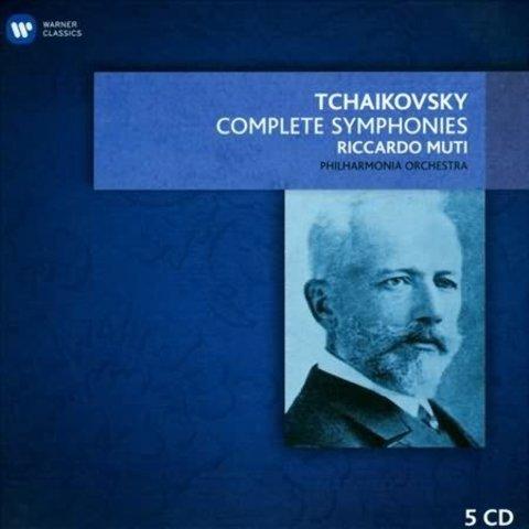 CD Tchaikovsky: Complete Symphonies, Muti/Philadelphia/Philharmonia