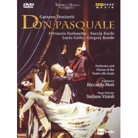 DVD Donizetti: Don Pasquale, Muti/La Scala
