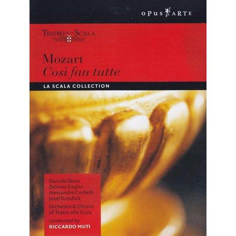 DVD Mozart: Cosi fan tutte, Muti/La Scala
