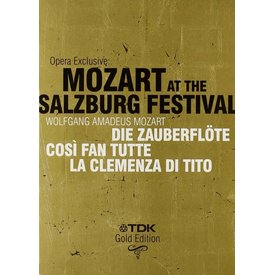 DVD Opera Exclusive: Mozart at the Salzburg Festival