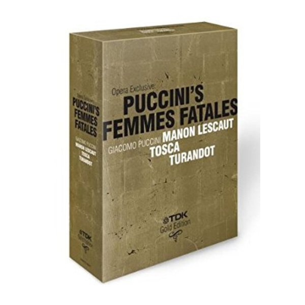 DVD Opera Exclusive: Puccini's Femmes Fatales